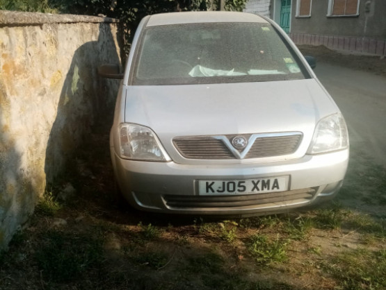 Opel Meriva 1 generation [2002 - 2006] Minivan 1.6 MT (100 hp)