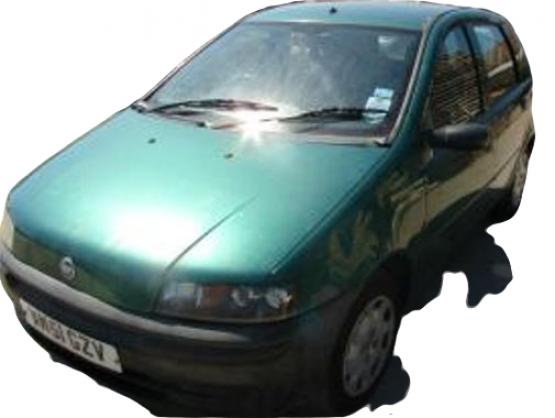 Fiat Punto 2 generation [1999 - 2003] Hatchback 5-doors 1.2 MT (60 hp) (188)