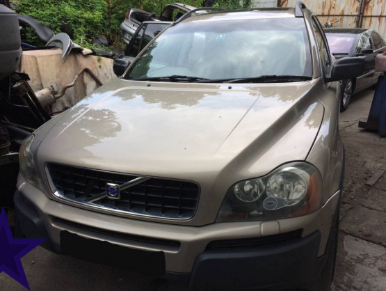 Volvo XC90 1 generation [2002 - 2006] Crossover 2.4 D5 Turbo Geartronic AWD (163 hp)